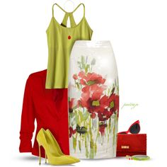 Poppin' Fresh Poppies, created by rockreborn on Polyvore