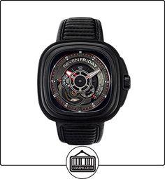 SEVEN FRIDAY P-SERIES RELOJ DE HOMBRE AUTOMÁTICO 48MM CORREA DE CUERO P3B-01 de  ✿ Relojes para hombre - (Lujo) ✿