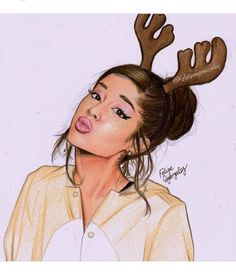 ☁ ️princess rebecca ☁ ariana grande fan art и fane Ariana Grande Anime, Ariana Grande Drawings, Ariana Grande Cute, Ariana Grande Photoshoot, Cartoon Girl Drawing, Cartoon Drawings, Cute Drawings, Celebrity Drawings, Dangerous Woman