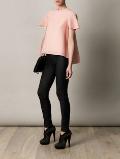 Balenciaga pin-tuck blouse
