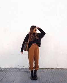 casual outfits for women / casual outfits ; casual outfits for winter ; casual outfits for women ; casual outfits for work ; casual outfits for school ; Spring Fashion Outfits, Casual Winter Outfits, Look Fashion, Autumn Fashion, Autumn Outfits, Indie Fall Outfits, Street Fashion, Classy Fashion, Hipster Fall Fashion
