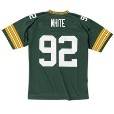 Men's Reggie White Green Bay Packers Mitchell & Ness Green Retired Jersey