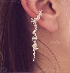 Elven Forest Ear Cuff $20 by AmeliaLune on Etsy