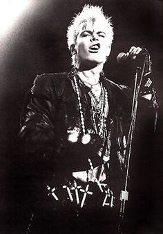 240 Best Billy Idol Images On Pinterest Rock 80s Music
