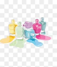 акварель ногтей, лак для ногтей, цветной, акварельИзображение PNG
