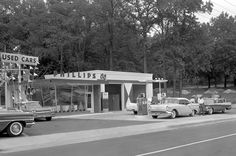 Full Service Gas Station, Gas Service, Shell Station, Filling Station, Old Gas Pumps, Vintage Gas Pumps, Car Photos, Car Pictures, Car Pics