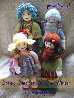 Ravelry: Seasonal Dolls