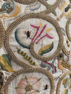 Jacket Date: ca. 1616 Culture: British Medium: linen, silk, metal Accession Number: 23.170.1