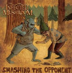 infected mushroom single cover