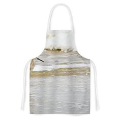 KESS InHouse Robin Dickinson Counting the Waves Brown White Artistic Apron 31 by 3575 Multicolor >>> Learn more by visiting the image link. (This is an affiliate link)