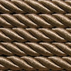 ab 10 lfm Dekokordel Ø7 mm Hellbraun Braun Dekokordel  Bastelkordel Satinkordel