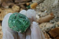 Did You Know Jade is Found in Guatemala? Guatemalan Jade Has Been Revered for Ages by the Peoples of MesoAmerica - click through to read the full post from the Found in the Jewelry Box Blog!