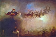 Santa Claus - William Holbrook Beard (1862)