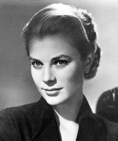 Grace Kelly. American actress and one of the most beautiful women in history.  She married Prince Ranier of Monaco.  She died in an auto accident as a young mother.