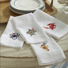 Holiday Octopus Hand Towels (Set of 2)