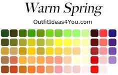 Seasonal Color Analysis True Spring Jen Thoden S Empower Network