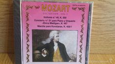 MOZART COLLECTION. VOL 5. SINFONÍA Nº 40 / CONCIERTO 21 PARA PIANO. CD / DIVUCSA - PRECINTADO.
