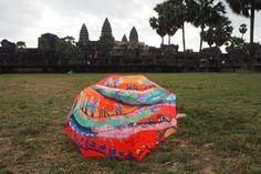 Parapluie au Cambodge...