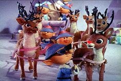 "classic Christmas tales - ""Rudolph the Red Nosed Reindeer""!"