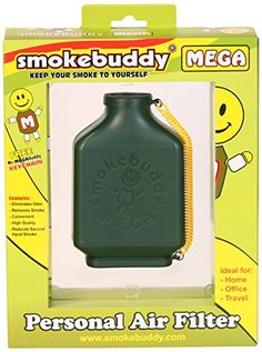 Smoke Buddy 0161GRN Mega Personal Air Filter Green -- You can get additional details at the image link.