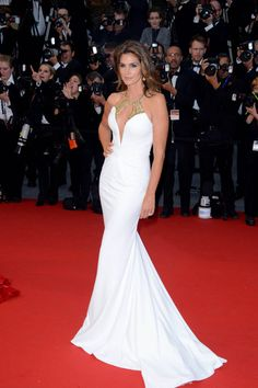 Cindy Crawford Turns Heads in Roberto Cavalli at the 66th Annual Cannes Film Festival | Fashion Gone Rogue