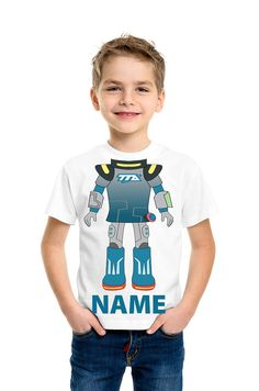 miles from tomorrowland Shirt-Personalized Kids by HeadlessShirts
