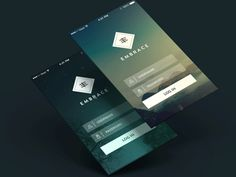 Beautiful Examples of Login Forms for Websites and Apps - interior design Mobile Login, App Login, Login Form, Web Design, App Ui Design, User Interface Design, Flat Design, App Design Inspiration, Interface Design
