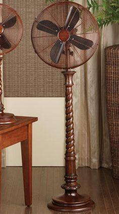 Decorative Pedestal Fan For Massandra. Alternate Image #1