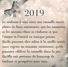 Happy New Year QUOTE - Image: Quotes of the Day - Life Quote I wish my friends a happy n Happy New Year Quotes, Quotes About New Year, Happy New Year 2019, New Year 2020, Happy Year, Nouvel An Citation, Les Sentiments, New Year Greetings, Visual Statements