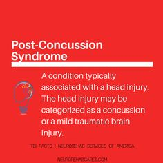 post concussion syndrome Post-concussion syndrome (pcs) occurs when symptoms resulting from a concussion, also known as a mild traumatic brain injury (mtbi), persist beyond the expected timeframe of recovery, although there is disagreement among the literature as to the exact duration of symptoms necessary for this diagnosis (many sources state a duration of one month) [1.