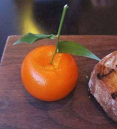 dinner by heston bluementhal, mandarin oriental, knightsbridge    meat fruit
