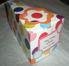 Cake Slice Box Pattern