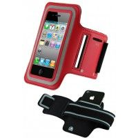 iPhone 4(S) Armband (Rood) - Electronica