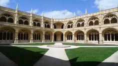 monasterio de los jeronimos, claustro. Lisboa
