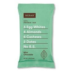 Mint Chocolate: Box of 12 - Buy RXBAR | RXBAR