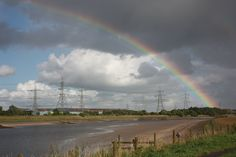 Rainbow over the River Dee, Connah's Quay
