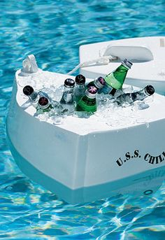 USS Chill Floating Cooler.