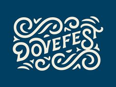 Dovefest by Will Dove #Design Popular #Dribbble #shots