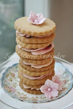 Lady Berry Afternoon Vintage Tea Party ♥ Dessert