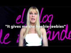 """¿Cómo se dice """"SE ME PONEN LOS PELOS DE PUNTA"""" en inglés?  NO ES: """"I get my hairs of point!"""" 😂  https://youtu.be/M-d7r_70yTw  El blog de Amanda EL INGLÉS QUE NO SE APRENDE EN CLASE www.elblogdeamanda.com"""