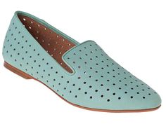These #perforated blue #loafers are perfect for running around town on the #weekends. #summerstyle