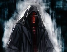 Darth Revan speed paint by Vulture34
