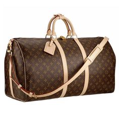 For the fashionable traveler, a Louis Vuitton Keepall is a must. This iconic weekender bag has been around since 1930, and is the ultimate choice for a designer carry-on. We recommend staying under the Keepall 60 size, though, since it's known to get a bit heavy on the shoulder.