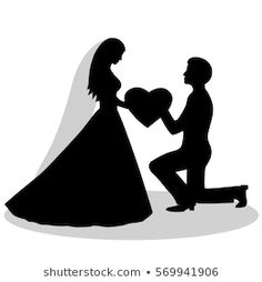 Bride And Groom Silhouette, Couple Silhouette, Wedding Silhouette, Silhouette Clip Art, Black Silhouette, Wallpaper Images Hd, Cute Wallpaper Backgrounds, Love Wallpaper, Art Drawings Sketches Simple
