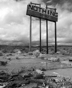 Remains of a Gas station, Nothing Arizona  Source: bmwbiker1 (reddit)