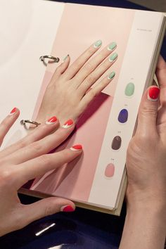 Manicures at Paintbox Nail Salon from #InStyle