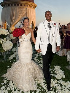 Boston Celtics Paul Pierce's Oceanfront Wedding 2010