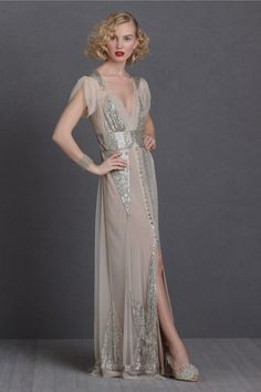 BHLDN 2012 Vintage Inspired Wedding Dresses