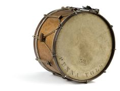 Large drum from the PA Volunteers; Cowan Auctions.