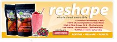 ReShape your body and life food Whole Foods Smoothies, Smoothie Recipes, 8 Week Challenge, Life Challenges, Health And Nutrition, Cholesterol, Whole Food Recipes, Plant Based, Clean Eating